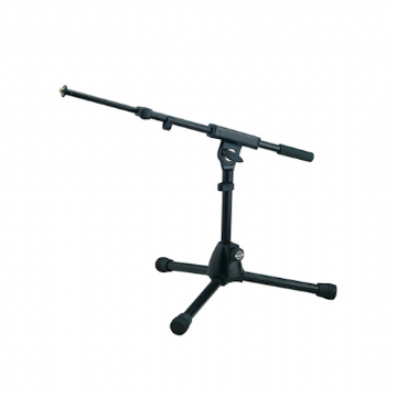 K&M 25950 Extra Low Microphone Stand with Telescopic Boom